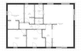 Plan Maison Plain Pied 85m2 Fabulous Plan De Maison En Bois Plein