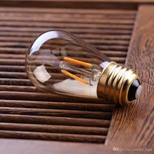 Großhandel Braunglas St45 Led Glühlampe Edison Perle Lampe 1w 2200k E26 E27 Dekorative Pendelleuchte Dimmbare Von Centurylight 3111 Auf
