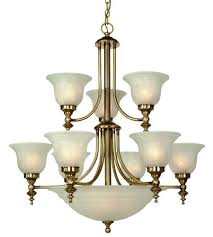 dolan designs 664 18 richland 12 light 30 inch old brass chandelier ceiling light in
