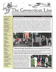 newsletter connecticut sons of the american revolution connecticut sar newsletter