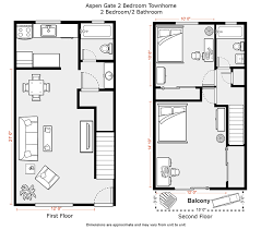 Floor Plan 2 Bedroom Apartment  AkiozcomApartments Floor Plans 2 Bedrooms
