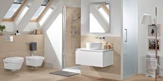 Dachschrägen Badideen Schaffen Durchblick Glasklar Elements