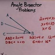 Perpendicular Bisector Theorem  Proof and Ex le   Video   Lesson moreover Construction  Bisect Angle moreover  besides Perpendicular and Angle Bisectors Lesson Plan for 10th Grade also Perpendicular Bisectors of a Line Segment  A likewise  moreover Geometry Worksheets   Constructions Worksheets as well How to Use the Angle Bisector Theorem   dummies likewise Worksheet  Properties of Perpendicular   Angle Bisectors together with Angle Bisector Theorem additionally Math Geometry Problem 1016  Triangle  45 Degrees  Area. on perpendicular bisector math worksheets