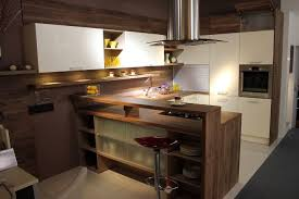 walnut laminate kitchen