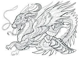 Dragon Coloring Pages Printable Dragon Coloring Page Dragon Coloring