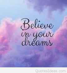 In Your Dreams Quotes Best Of Believe In Your Dreams Quote Card