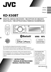 jvc kd xbt instructions page  type your new search above