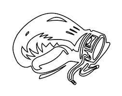 Boxing Gloves Coloring Pages Printable Get Coloring Pages