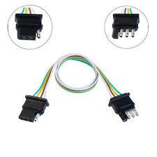 automotive magideal 4 pin plug 18 awg trailer light flat 220mm automotive magideal 4 pin plug 18 awg trailer light flat 220mm wiring harness connector us plug