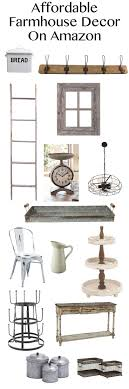 Affordable Farmhouse Decor on Amazon! Tons of great items to add a rustic  farmhouse touch