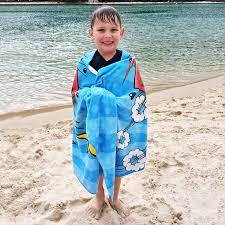 Personalised Kids Beach Towels SPATZ Mini Peeps