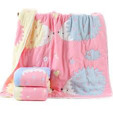 USD 29.77] Cotton 8-layer 10-layer gauze baby bath towel cotton ...