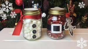 Decorating Canning Jars Gifts How To DIY Santa And Snowman Mason Jar Gifts YouTube 31
