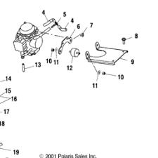 2001 Polaris Ranger Engine Diagram Polaris Ranger 500 EFI Parts