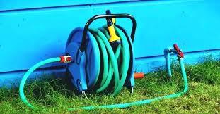 garden hose storage ideas build a reel best box ceramic pot ho aluminum post garden hose reels storage container mount reel
