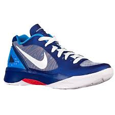 nike volleyball shoes. nike volley zoom hyperspike women\u0027s volleyball shoes blue white 9521184pf