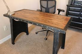 industrial office desk. Office Desk:Industrial Style Desk Home Industrial Look Vintage Furniture