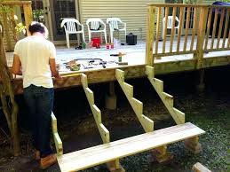 excellent pre built deck stairs stairs building deck stairs with made stringers stairs steps prefab deck