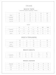 Dolce Gabbana Size Chart Mens Bedowntowndaytona Com