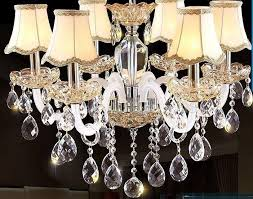 15 pcs lot 50 mm grid faced pear shape drop beads french chandelier accessories crystal hanging