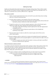 Writing A Research Paper Outline Teacher And Student Guide For Writing Research Papers