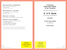 book cover format