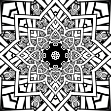 Small Picture Fractal Coloring Pages Printable Coloring Pages 17025