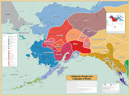 And Peoples Indigenous Languages Map Of Collection Alaska