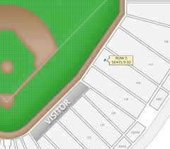 Nationals Stadium Seating Chart With Rows 16 Abundant Interactive Seating Chart For Comerica Park