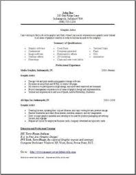 Graphic Arts Resume, Occupational:examples, samples Free edit with .