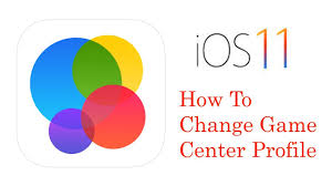 ios 11 game center how to change