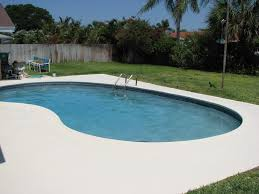 colored concrete pool deck ideas paint the best home painting