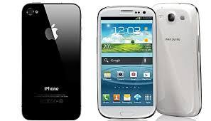 iphone or samsung. samsung dan apple bersekutu lalu berseteru iphone or