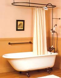 clawfoot tubs with showers tub shower enclosure always wanted one of these bathtubs curtain rod kit clawfoot tubs