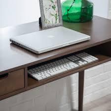 belham living carter mid century modern writing desk  hayneedle