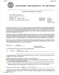 Page 1 N0022601 6286817040622 Tennessee Department Of