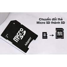 Freeship Extra] Adapter Đầu Chuyển Thẻ Nhớ Micro SD (TF) Sang SD - Dùng Cho Máy  Ảnh / Laptop / CAMERA - Thẻ nhớ máy ảnh