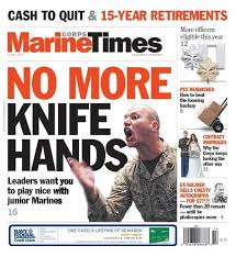 Marine Corps Hand Signals Behind The Cover No More Knife Hands