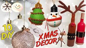 10 diy christmas recycled decoration