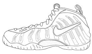 Jordan Shoes Coloring Sheets Coloring Pages Shoes Coloring Pages