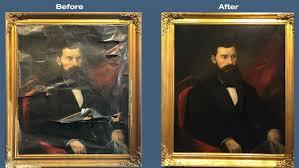 framing painting restoration