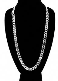 Mens <b>Miami</b> Cuban Link Chain and Bracelet Set <b>Stainless Steel</b> ...