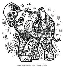 Elephant Adult Coloring Pages Amazing For Kids As Well 2 Hangenix