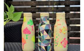 bottle painting hobbyideas