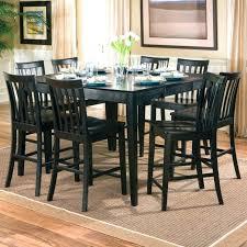 round black pub table and chairs black square pub table and chairs photo inspirations round black pub table