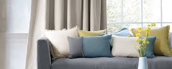 ... Curtains and Blinds in Tauranga - Autumn-coloured cushions