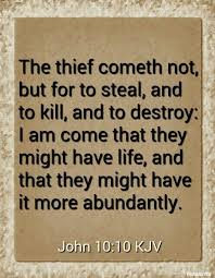 john 10 10 kjv the thief eth not but for to steal and to kill and to destroy i am e that they might have life and that they