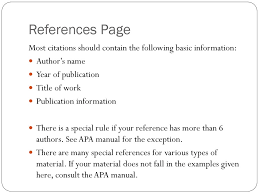The Wonderful World Of Apa Style Ppt Download