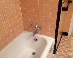 Vintage 1937 peach bathroom in my home. All original tile.   MY ...
