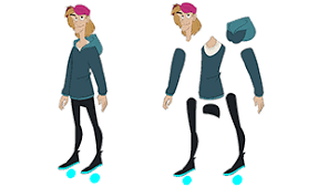Cut Out Character Template Templates Toon Boom Animation